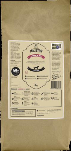 Lamm & Ris 2kg Majstor hundfoder
